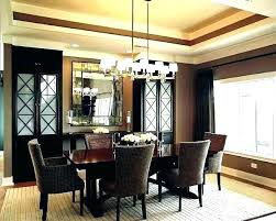 dining table chandelier height from room lamp standard cha