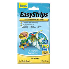 Tetra Test Strips Chart Easystrips 6 In 1 Aquarium Test Strips Tetra