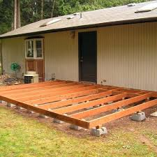build a floating deck how to build a deck using deck blocks build floating  deck over
