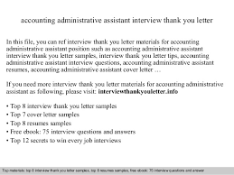 interview questions for executive assistant sample thank you letter after interview executive assistant