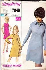 Designer Sewing Patterns Magnificent Simplicity 48 Ladies Dress Vintage Sewing Pattern Designer Fashion