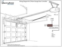 commercial garage door wiring diagram doey wire center u2022 rh theswisr co craftsman garage door opener wiring diagram garage door sensor wiring