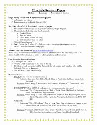mla papaer mla formatted paper inspirational sample essay in mla format example