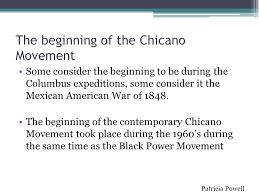 "the origins and history of the chicano movement"" ppt video  the beginning of the chicano movement"