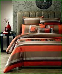 orange king size bedding sets appealing brown and burnt orange bedding with additional white for burnt