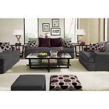 Pewter Bedroom Furniture American Signature Furniture Radiance Upholstery Sofa Living