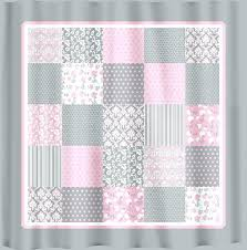 pink grey shower curtain pink and grey shower curtain french country patchwork shower curtain pink grey