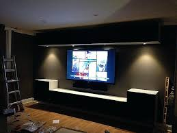 wall mounted entertainment unit wall entertainment unit unique wall mounted and under cabinet lights with smoked