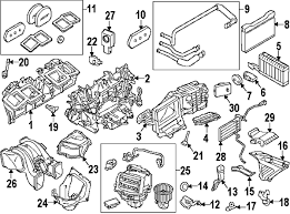 parts com® bmw actuator partnumber 64119319037 2012 bmw 528i base l4 2 0 liter gas evaporator heater components