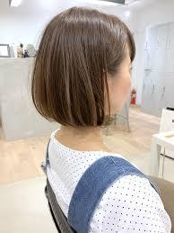 人気の前下がりボブお客様に合わせたヘアスタイル Dishel清井慎二blog