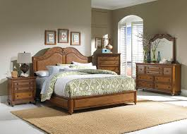 fabulous classic bedroom design ideas along with wood carving headboard and also wood nightstand feature drawer