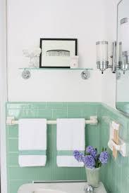 Vintage Bathrooms (My Mint \u0026 Pink Bathroom) - The Inspired Room