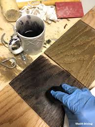 how to stain and dye wood lime wax