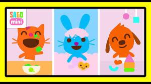 Fun Baby Activities - Sago Mini Babies   Diaper Change, Bathing ...