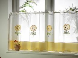 Sunflower Curtains For Kitchen Sunflower Lace Curtain Panels Pictures To Pin On Pinterest Pinsdaddy