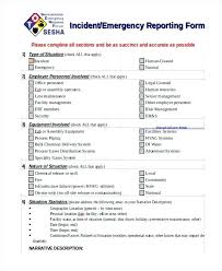 fire incident report form template template fire incident report template emergency management form