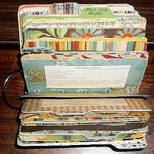How To Make A Recipe Book Scrapbook Cookbook I Am Going To Make One For Myself With