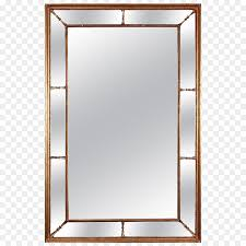 mirror glass window rectangle metal enameled