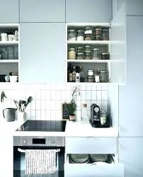 stainless steel kitchen shelf unit floating