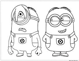 Small Picture Minion Coloring DogColoringPrintable Coloring Pages Free Download