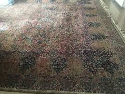 rare large wool persian rug multi colored but mainly red and green 20