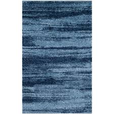 safavieh retro light blue blue 3 ft x 5 ft area rug