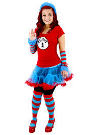 these thing 1 and thing 2 tutu costumes feature interchangeable velcro numbers