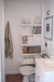 Who Says You Canu0027t Use The Small Space By Toilet We Love This Toilet  Shelving Idea Bathroom Storage Ideas For Small Spaces Solutions Your  Pinterest