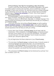 french essay writing expressions for writing a level essays in french by abingdonteacher home fc