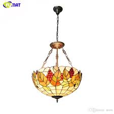 fuamt tiffany glass chandeliers past g stained glass light for living room dning room home decor led chandelier lights tiffany pendant lamps g