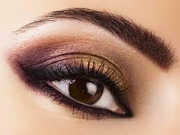 dark eye makeup for brown eyes
