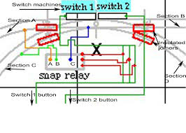 atlas model railroad co wiring snap relay for cascading switches 852 5 kb