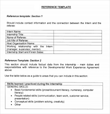job reference sample job reference template 5 free documents download in pdf