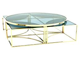 glass coffee tables uk glass coffee table gold frame new throughout brass in tables remodel inside
