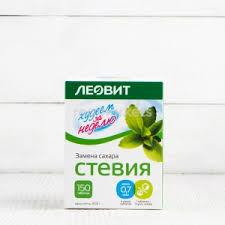 Сахарозаменители <b>Стевия</b> Леовит натуральные в Якутске 🥇