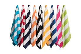 Image Bath Towel Simba Towels Hv113 Havana Stripe Beach Towel