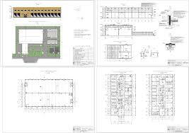 Курсовые и дипломные проекты промышленные здания скачать dwg  Курсовой проект Промышленное здание 84 х 48 м с пристроенным административно бытовым корпусом в