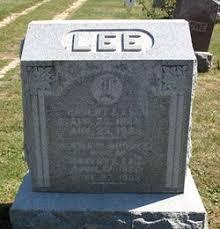 Emma Priscilla Rhodes Lee (1860-1902) - Find A Grave Memorial