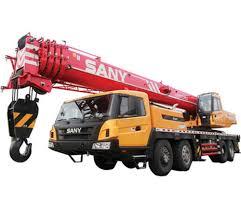 80 Ton Truck Crane Cranes Forklift Lifting Machines