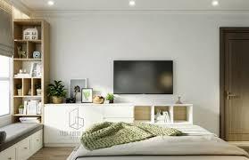 Luxurious Bedrooms Homemydesigncom Scandinavianbedroomwithledtv