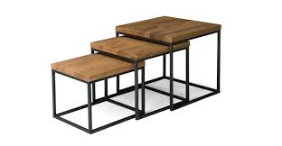 table design. Taiga Nesting Tables Coffee Article Table Design N