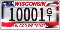 Wisconsin DMV Official Government Site - <b>In God We Trust</b> license ...