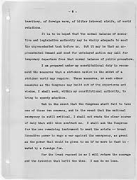 fdr s first inaugural address declaring war on the great  the documents