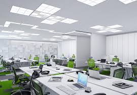 Modern office architecture Woman Commercial Dimmer Switch Commercial Light Switch Commercial Lighting Sensors Acuity Brands Modern Office Lighting Architectural Office Lighting