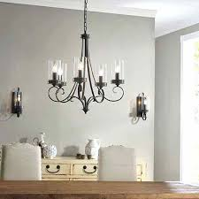 5 light inch brushed nickel chandelier ceiling kichler lighting barrington anvil iron and driftwood chandeliers