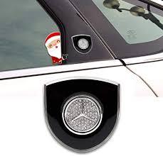 BENZ Emblem, 2PCS Car Decal 3D Mercedes Benz ... - Amazon.com