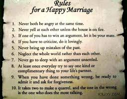 Happy Marriage Quotes Simple Marriage Quotes Rules To Happy Marriage Krexy Living