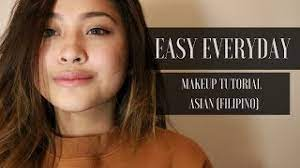 easy everyday make up tutorial asian