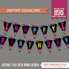 Happy Birthday Banners To Print At Home Download Them Or Print