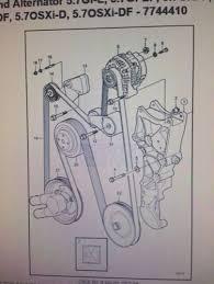 volvo penta alternator boat parts volvo penta serpentine micro v belt 3586326 new for alternator pump steering